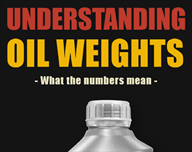 Understanding Oil Weights